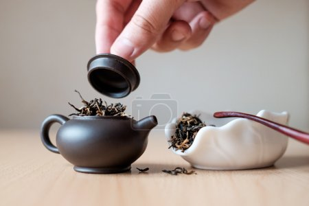 Teapot and tea box