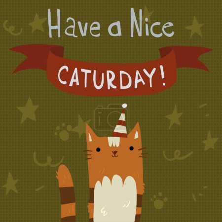 Cat's Saturday Postcard