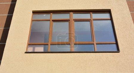 big pvc window