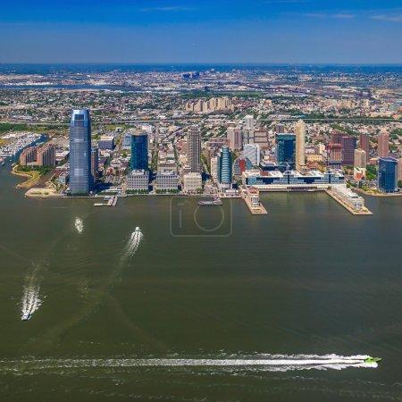 Aerial veiw of Jersey City