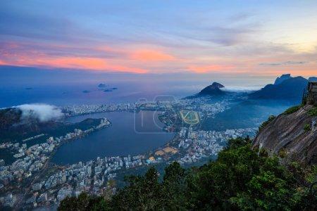 Night view of  Rio de Janeiro