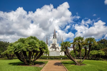 St. Louis Cathedral in the French Quarter, New Orleans, Louisian