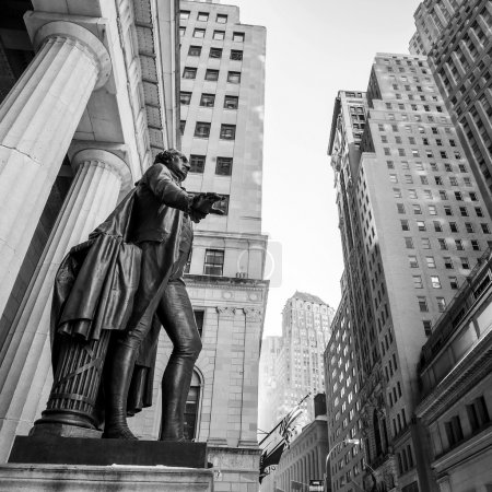 Wide-angle view of the New York Stock Exchange