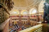 """Постер, картина, фотообои """"Главный зал библиотеки Конгресса потолка Dc"""""""