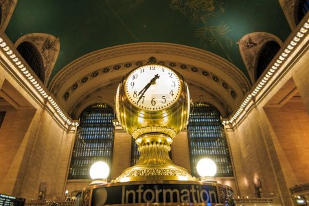 Photo for Facade of Grand Central Terminal at twilight in New York, USA - Royalty Free Image