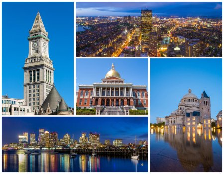 Boston MA famous landmarks