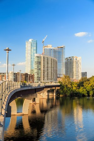 view of Austin, downtown skyline