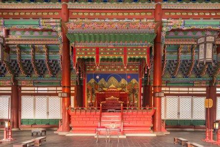 Gyeongbokgung palace in Seoul