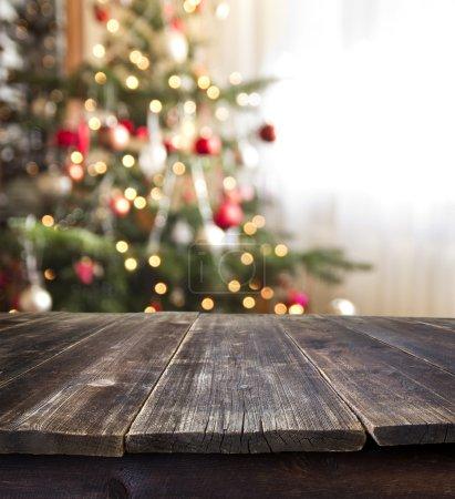 Photo pour Affichage de table de Noël - image libre de droit