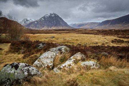 Photo pour Buachaille etive mor, glencoe, Écosse. - image libre de droit