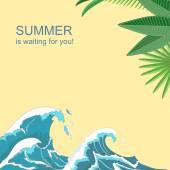 Sommar affisch