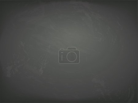 Vector black chalkboard background. Blackboard with chalk traces