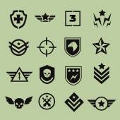 Vojenský piktogramy