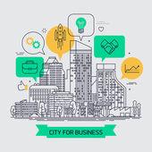 'City for business' concept design