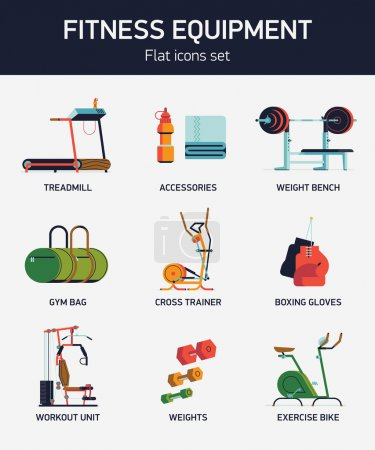 Cool fitness gym exercise equipment