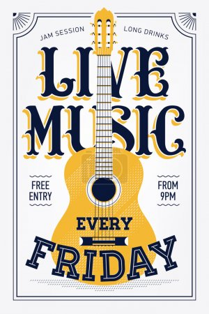 Vintage Live Music Every Friday