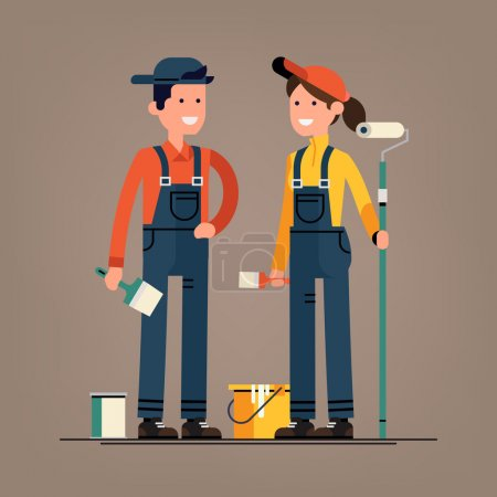 house painter characters