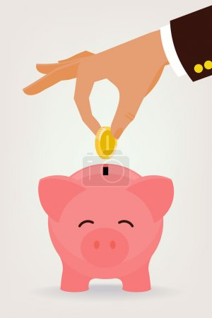 Savings concept illustration