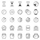 Time icons collection
