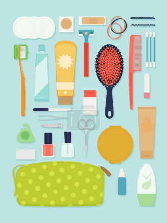 Travel and portable toiletry items