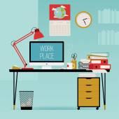 Kreatív irodai íróasztal