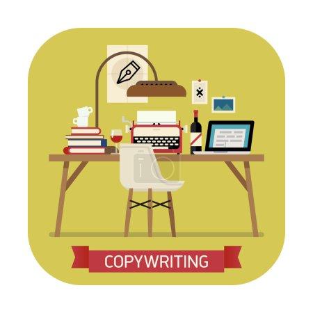 Icon on copywriting.