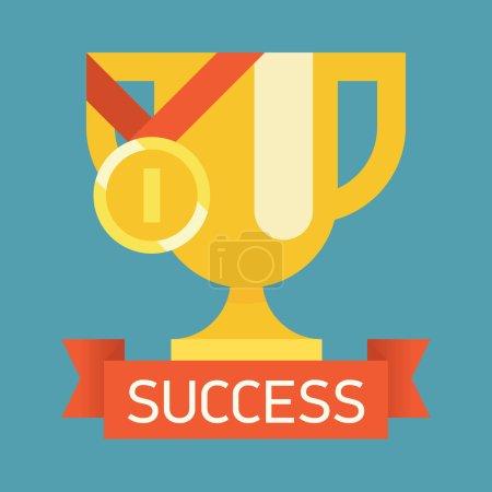 Web icon on success