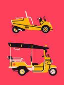Tuk tuk auto rikša