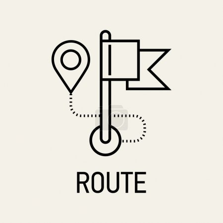 Travel route and navigation