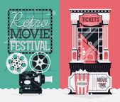 retro movie cinema festival