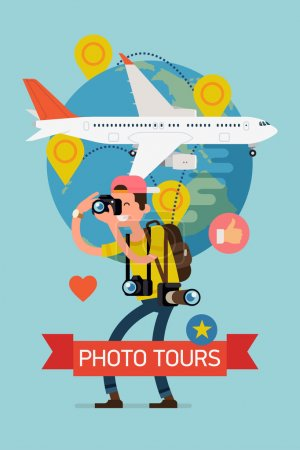 Photo tours  detailed poster