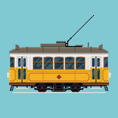 Lovely retro detailed tram car