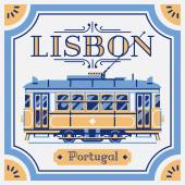 Beautiful Portuguese azulejos souvenir