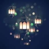 Schönen Ramadan Laternen