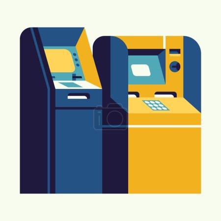 ATM teller cash