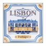 Постер, плакат: Beautiful Portuguese azulejos souvenir