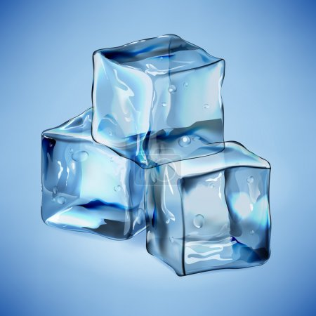 Cool ice cubes