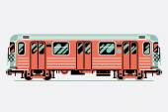 Transit train car