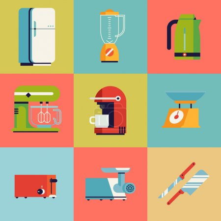 Domestic kitchen appliances