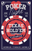 Hűvös Texas Holdem póker night