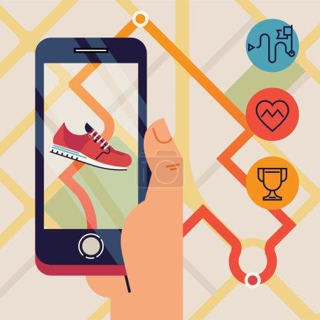 Run tracking application