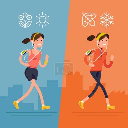 All seasons fitness run