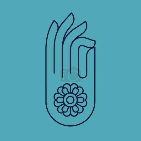 Gyan mudra Indian hand gesture