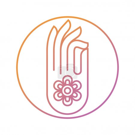Gyan mudra Indian hand gesture