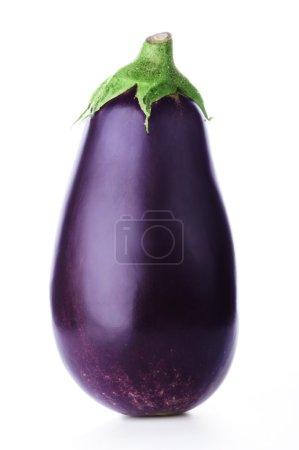 Ripe fresh aubergine