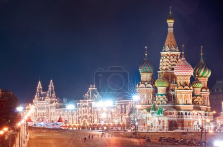 Moscow Kremlin and Red Square