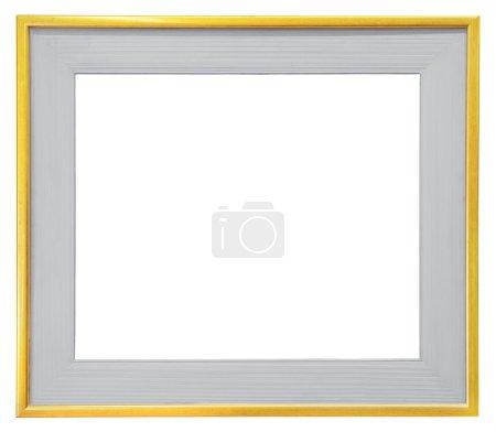 Gray wooden frame