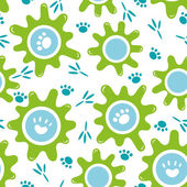 set of baby seamless backgrounds Colored hedgehog