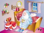 Santa claus goodnight