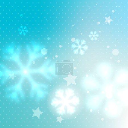 blurred frosty background